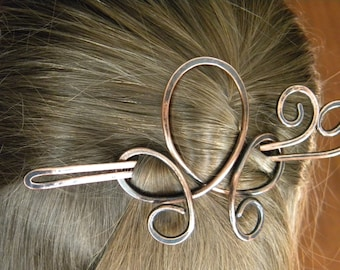 Hair Barrette, Hair Stick, Hair Accessories, Copper, Gift, Hair Slide, Hair Clips, Hair Bow, Sticks, Hair Brooch, Hair Fork, Women, Hair Pin