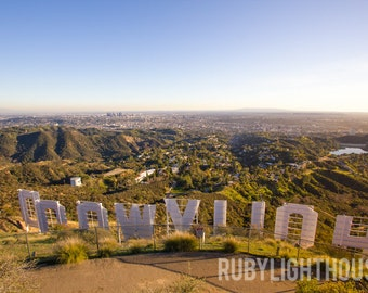 Hollywood Sign Photograph, Los Angeles Photography