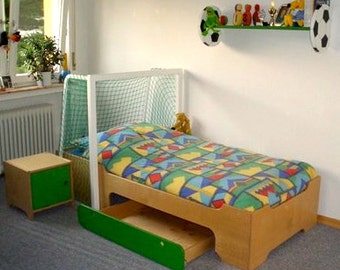 Football Bed - Soccer Bed twin with extra storage
