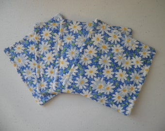 Coasters or mug rugs (set of 4)