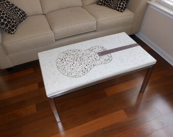 Free Shipping Concrete Coffee Table Made To Order