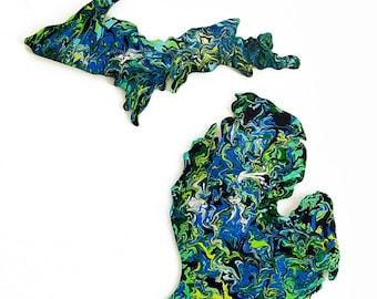 Custom Michigan Artwork