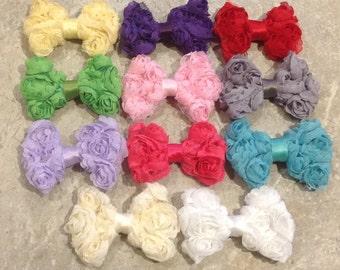 PICK 1 HEADBANDS- Baby Hair Bow, flower headband, baby headbands, shabby chic bow,baby girl headband, hair bows- BL251