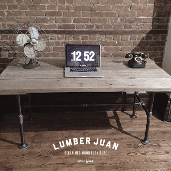 Reclaimed Wood Dining Table / Desk