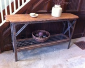 Rustic Urban Hall/Sofa Table