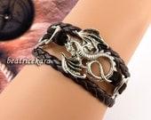 Love Dragon Bracelet , bracelet  ,Cute Bracelet, Gift Bracelet ,Blessing Braclet