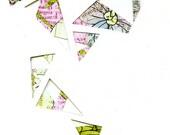 Geometric Cutout Card (patterned)
