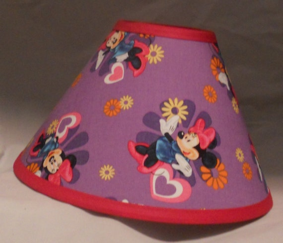 disney mickey mouse minnie mouse lamp by littlebobbycreations. Black Bedroom Furniture Sets. Home Design Ideas