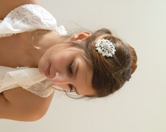 Bridal hair comb, Rhinestone hair comb, diamante headpiece, Rhinestone bridal comb, crystal wedding jewelry ,Wedding Jewel Comb
