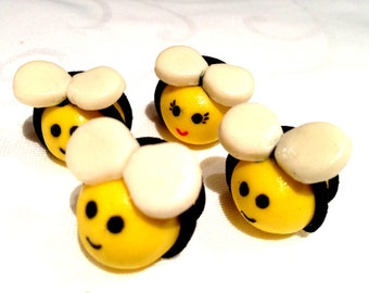 Bees icing - Cake and Cupcake decoration