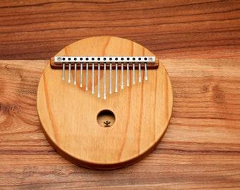 Acoustic Kalimba, 15 key, Proper harmonic design,Mbira,Thumb Piano