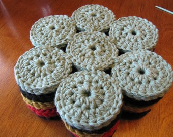 crochet trivet, made to order. select your color.