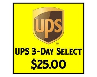 Expedited UPS Delivery Service 3-Day Select