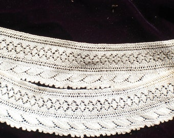 Vintage crocheted lace by Grandma