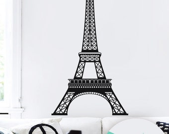 Eiffel tower decal - Eiffel tower - Paris wall art - Eiffel tower wall decal - Eiffel tower decor - 026