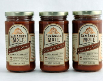 San Angel Mole Cascabel Sauce 3 Pack
