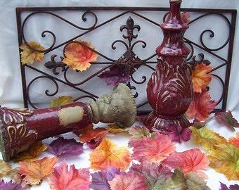 Autumn's Watercolors Maple Silk Fall Leaves Leaf Autumn Wedding Decor