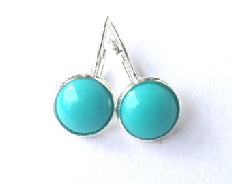 Earrings Pacifica Turquoise for the Summer