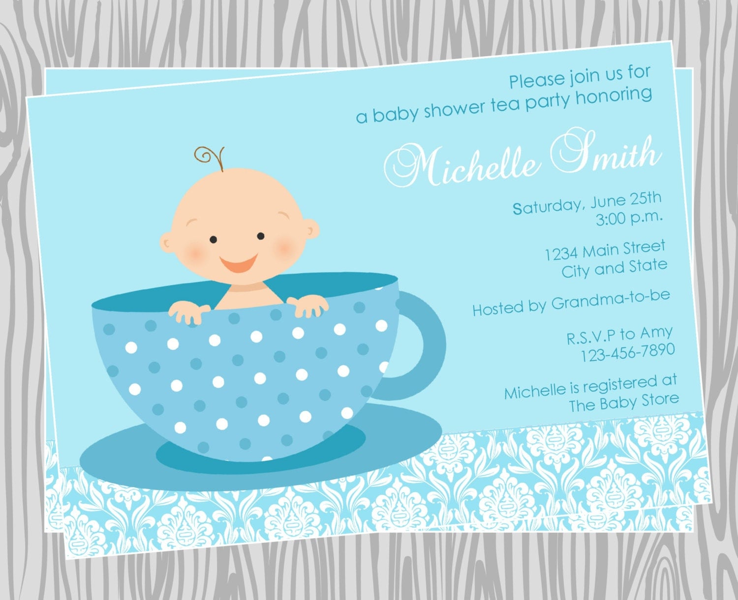 Order Baby Shower Invitations Online with adorable invitations ideas