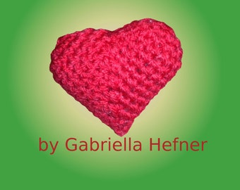 Amigurumi pattern Valentinsday heart
