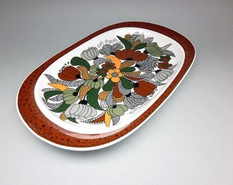 Thomas porcelain platter / serving dish (Rosenthal Group, Bavaria, 1970s)
