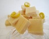 Luscious Lemon Fudge-White Chocolate and Fresh California Lemons-1 pound boxed