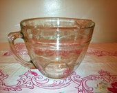 Large Glass Fire King Measuring Batter Bowl