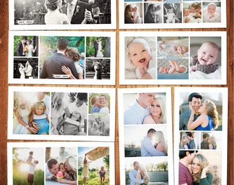 BUY 1 GET 1 FREE Blog Board & Collage Template Photoshop Template Set Instant Download: blog board code -235