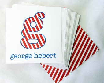 Personalized Calling Cards - Kids - George