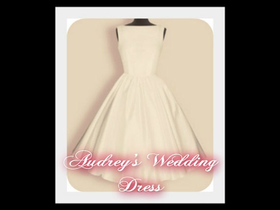 Audrey Wedding DressFunny Face Audrey Hepburn By PoppyVintageStyle