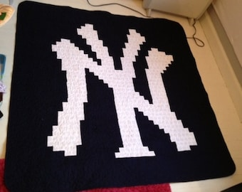 NY Yankees Quilt