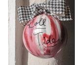 Hand painted custom ornament