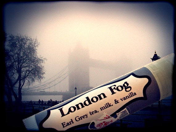 London Fog-  Organic Lip Balm 0.15oz  - Earl Grey Tea, Milk and Vanilla - kissable tasty soft lips for her