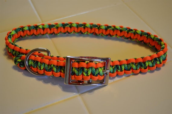 How To Make An Adjustable Dog Collar Out Of Paracord