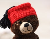 Hand Crochet Baby, Child and Adult Fez -- Many Color Options
