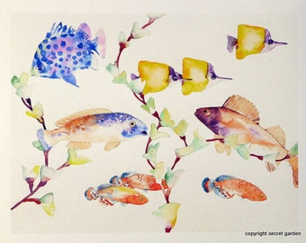 Tropical Fish Painting No. 2