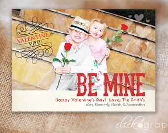Be Mine - Valentine Photo Card