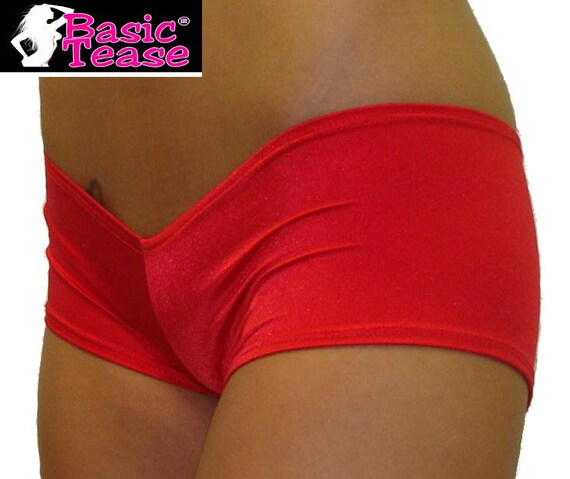 Super Low Rise Mini Stripper Shorts for Exotic Dancers or Pole Fitness Class