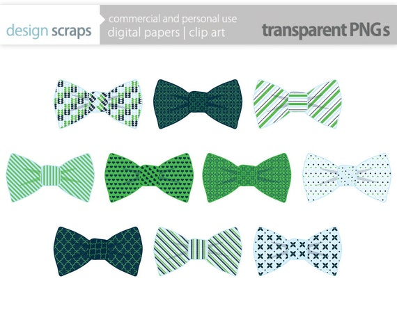 Bow Tie Clip Art Graphics Baby Boy Ties Digital By