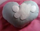 Cloud 9 Heart Pillow Pouch for Romantic Proposals, Small gifts, Love Notes, and Scensty Products