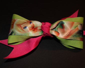 Tinkerbell Hair Bow