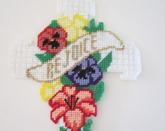 Easter Cross Wall Hanging