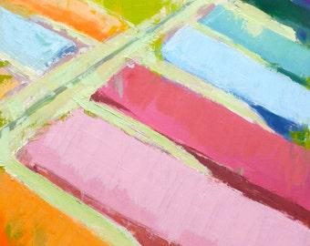 """Oil on Canvas - """"Craypas"""""""