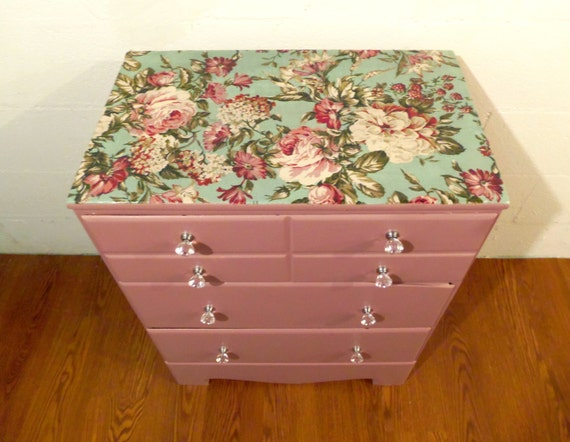 Small Floral Top Dresser