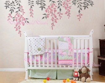 Cherry Blossom Tree Wall Decals Nursery Wall Decals Children - Wall decals for nursery