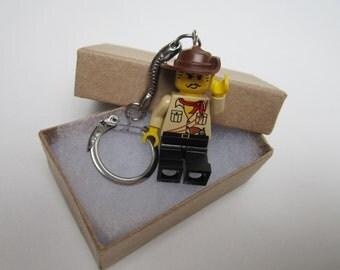 LEGO minifig keychain