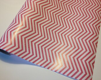 Pink Chevron Wrapping Paper 30 inches x  12 feet