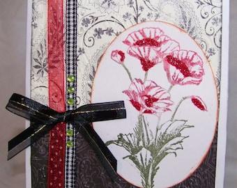 Handmade All Occasion Greeting Card , Fancy Birthday Card