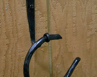 Wrought Iron Towel Ring-woodstock detail 2 Piece Set
