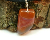 Agate Cabochon Necklace - Very Rare Inca Agate from South America